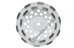 Bosch DC710H 7 Inch Double Row Segmented Diamond Cup Wheel