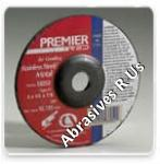 Carborundum Z24 Premier Red Depressed Center Wheels