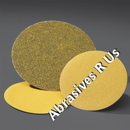 Norton Gold NorGrip Hook and Loop 6 Inch Discs Grits 80   400