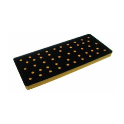 3 x 7 Inch Many Hole Screen Abrasive Back Up Pads by AirVantage
