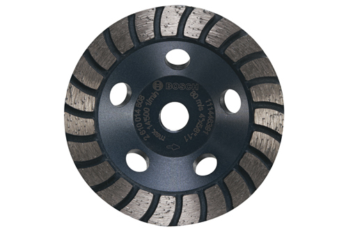 DC430H 4 Inch Turbo Row Diamond Cup Wheel by Bosch