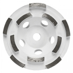 Bosch DC4510H 4 5 Inch Double Row Segmented Diamond Cup Wheel