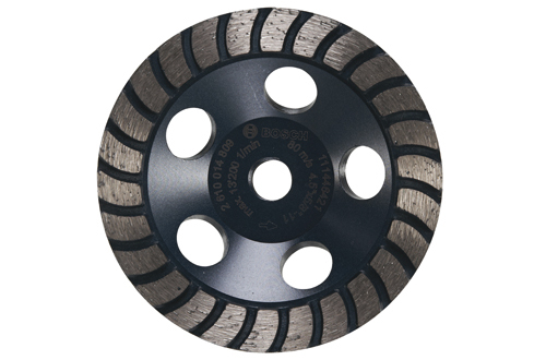 4530H 4 5 Inch Turbo Row Diamond Cup Wheel by Bosch