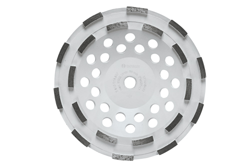 DC710H 7 Inch Double Row Segmented Diamond Cup Wheel by Bosch
