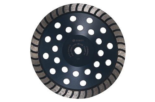 DC730H 7 Inch Turbo Row Diamond Cup Wheel by Bosch