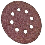 Bosch 5 Inch 8 Hole Hook and Loop Wood Sanding Discs 5 Pack