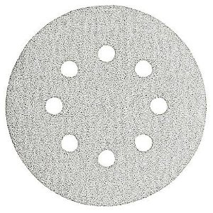 5 Inch 8 Hole Hook and Loop Paint Sanding Discs 25 Pack by Bosch