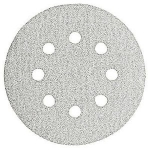 Bosch 6 Inch 6 Hole Hook and Loop Discs Assorted Grits 6 Pack