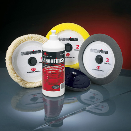 Carbo Finish Polishing Pads 8 and 9 Inch by Carborundum Abrasives