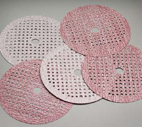 Carbo CleanAir Hook and Loop 6 Inch Discs Grits 80 - 800 by Carborundum Abrasives