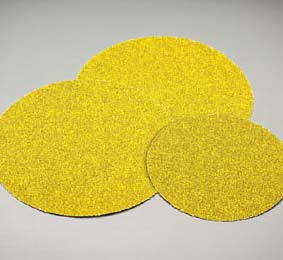 Carbo Gold PSA Coarse Discs 8 Inch Grits 36 - 80 by Carborundum Abrasives