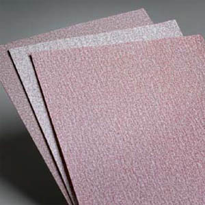 Abrasive 9 x 11 Inch Premier Red Sheets 80 - 1000 Grit by Carborundum Abrasives