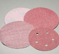 3 Inch Premier Red Hook and Loop Discs Grits 80 - 1500 by Carborundum Abrasives