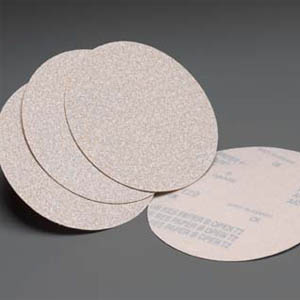 White Lightning Hook Loop Discs 6 Inch Grits 80 - 600 by Carborundum Abrasives