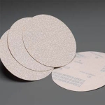 Carborundum White Lightning Hook Loop Discs 6 Inch Grits 80 - 600
