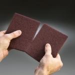 Carborundum Fibratex Nonwoven Scuff Pads 6 x 9 Inches
