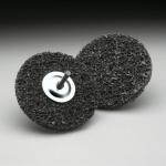 Carborundum Fibratex Surface Strip Disc with Mandrel 4 Inch