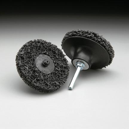 Fibratex Surface Strip TR Disc 3 Inch by Carborundum Abrasives
