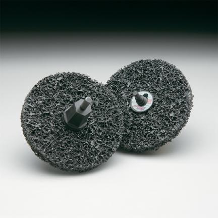 Fibratex Surface Strip TR  Disc 4 Inch by Carborundum Abrasives