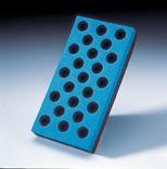 EZ Block Hand Sanding File Block with Holes by Carborundum Abrasives