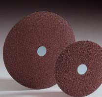 Merit Ceramic Resin Fiber Discs 5 Inch by Carborundum Abrasives