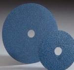 Carborundum Merit Zirconia Resin Fiber Discs 5 Inch