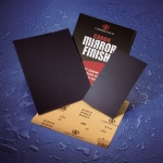 Carborundum Mirrorfinish Waterproof 9 x 11 Inch sanding Sheets