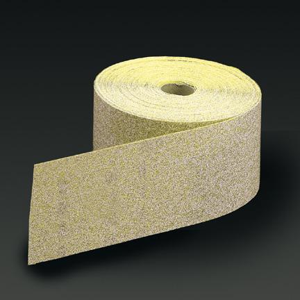 Carbo Gold PSA Sheet Roll 25 Yards Grits 80 - 400 by Carborundum Abrasives