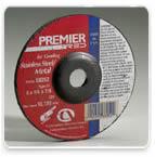 Z24 Premier Red Depressed Center Wheels by Carborundum Abrasives