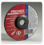 Carborundum Z24 Premier Red Depressed Center Wheels