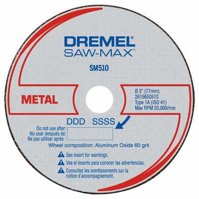 Saw Max SM510C Pack of 3 Blades by Dremel