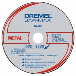 Dremel Saw Max SM510C Pack of 3 Blades