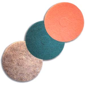 Aquamarine Ultra High Speed Floor Maintenance Pad by Mercer Abrasives