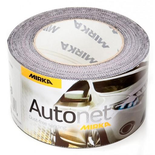 Autonet - Abranet 2-3 4 Inch x 33 ft 80 - 600 Sanding Mesh Roll by Mirka Abrasives