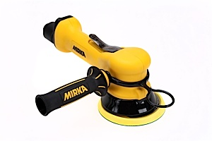 MR-610THSGV 6 Inch Two-Handed Self-Gen Vacuum Finishing Sander by Mirka Abrasives