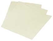 9x11 Inch  White Sanding Sheet 180 Grit by Mirka Abrasives