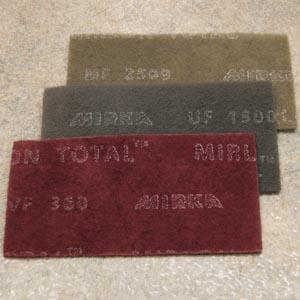 Mirka 18-118-447 Mirlon 4-1//2 in Red 360 grit Scuff Pad x 9 in Very Fine