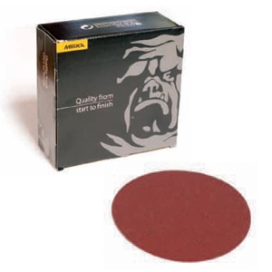 Royal Coarse Cut 6 Inch 80-150 Grit PSA Sanding Discs by Mirka Abrasives