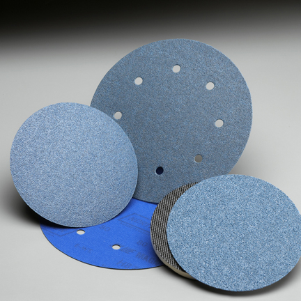 BlueMag NorGrip Hook and Loop 6 Inch Discs Grits 36 - 80 by Norton Abrasives