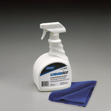 42082 Liquid Ice Clean Up and Detailer Spray 32oz by Norton Abrasives