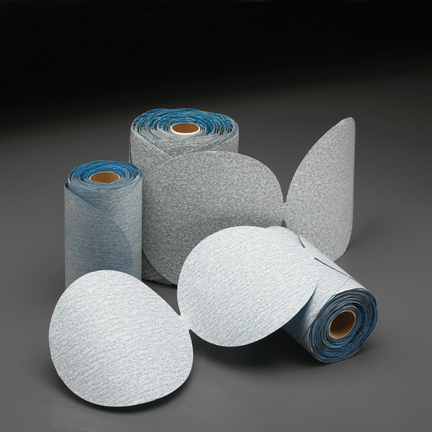 Dry Ice PSA 100 Disc Roll 6 Inch Grits 80 - 800 by Norton Abrasives