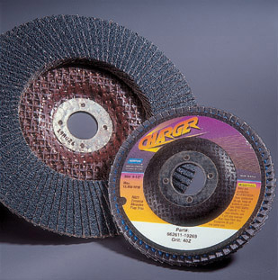Charger R822 Flap Discs 4 1 2 x 7 8 Inch by Norton Abrasives
