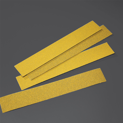 Gold PSA Body File Sheets Grits 36 - 80 by Norton Abrasives