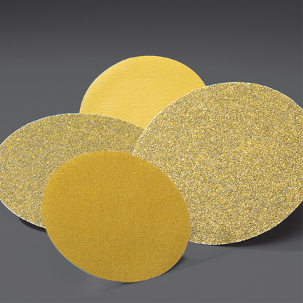 Gold PSA 8 Inch Discs Grits 40 and  80 by Norton Abrasives