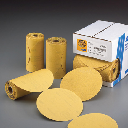 Gold Reserve A296 PSA 100 Disc Roll 5 Inch Discs Grits 80 - 400 by Norton Abrasives