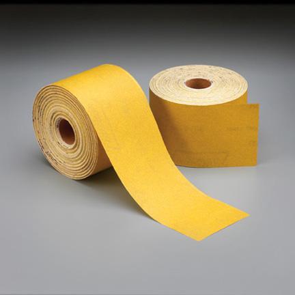 Gold PSA Sheet Roll 2-3 4 Inch 20 Yards 80 Grit by Norton Abrasives