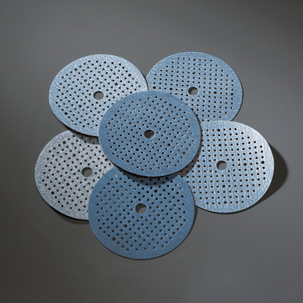 Multi Air Dry Ice NorGrip Vacuum Discs 6 Inch Grits 80 - 400 by Norton Abrasives