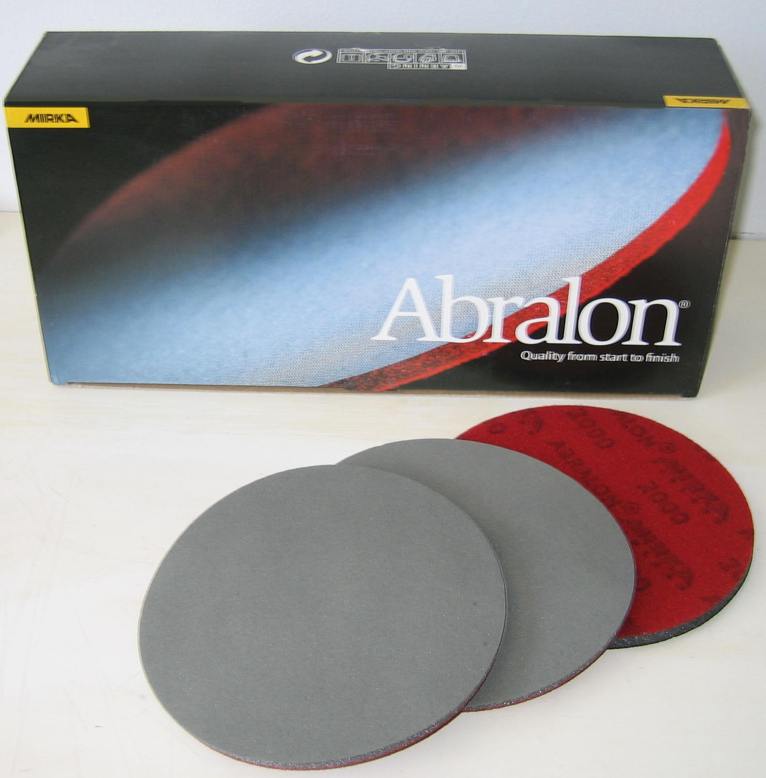 Mirka Abrasives Abralon 3 Inch Foam Hook n Loop Discs by Pro-Source Center