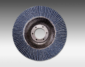 2824 flap 4 1 2 Inch Conical Fiberglass Flap Discs With Hub by Sia