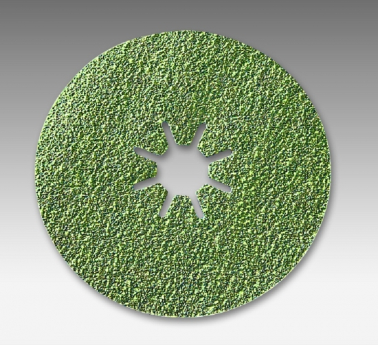 4515 bite 7 Inch Ceramic Heavy Duty Fiber Discs Grits 36 - 120 by Sia